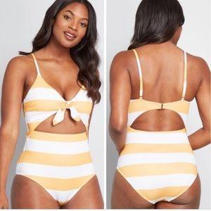 Modcloth One-Piece Swimsuit 1X NWOT